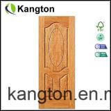 Le bois a moulé le modèle intérieur de porte de placage de HDF (la porte de placage)