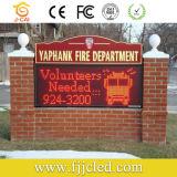 Для использования вне помещений P10 красный светодиодный индикатор для отображения рекламы