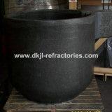 Crisol de grafito para fundir cobre y aluminio