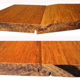 Pisos de bambú carbonizado tejida Strand