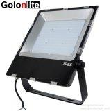 Mejor disipación de calor de la fábrica de estacionamiento Jardín Lámpara 200W Reflector LED Slim