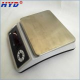 Balanza electrónica inoxidable de la placa de acero de la alta precisión