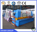 Máquina que pela de la guillotina hidráulica QC11Y-20X4000, cortadora de la placa de acero