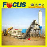 De Machines van de bouw! 60m3/H concrete het Mengen zich Installatie met de Transportband van de Riem