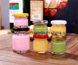 蜂蜜、ソース25ml、30mlのための小型かわいい蜂蜜のガラス瓶