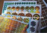 Etiquetas Anti-Counterfeit láser/Marca registrada (H-016)