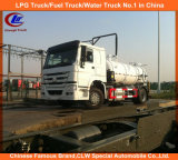 Carro fecal de la succión de las aguas residuales del carro 8000L de la succión del vacío de Sinotruk HOWO 4X2