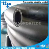 Tuyaux d'air en caoutchouc extérieurs enveloppés de boyau flexible de tresse de fibre