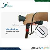 أولى براءة اختراع تصميم عصا ذكيّة مع [رديو] [مب3] ومظلة [س]. [روهس] [فكّ] تصديق