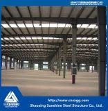 Estructura de acero del palmo ancho de la construcción prefabricada del metal con la viga