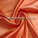 Polyester-Satin-Ebene 100% gefärbt