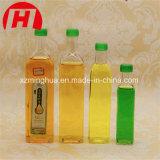 De vidro transparente vaso de azeite de óleo de cozinha garrafa de vidro
