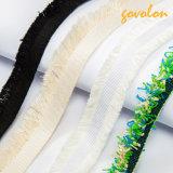 La mode ruban de coton de délignage Tassel vêtement de la bande de fraisage de sangle