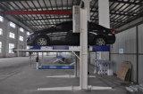 二重シリンダーホームガレージの油圧2郵便車の駐車上昇