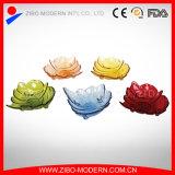 Lastra di vetro di figura speciale per la cerimonia nuziale, partito, piatto di pranzo decorativo
