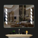 Roupões de banho de LED avançada de prata espelho iluminado