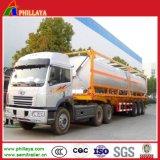 3 Axles 40-55cbm каустической соды бака трейлер Semi с топливозаправщиком