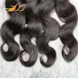 ボディ波8Aの高品質のペルーのバージンの人間の毛髪は編む