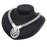 Insieme all'ingrosso stabilito di vendita caldo dei monili degli orecchini quattro della collana di diamante dei monili