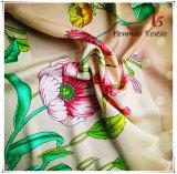 Фо шелк напечатано Satin шифон ткань для женщин платья