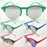 New fashionable Half Circle Frame New Style Promotion Óculos de sol (11347)