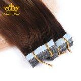 Two Tone Colour Tape In Hair Extensions Whoesale 100% Menselijk Haar Zonder Haar Te Vergieten