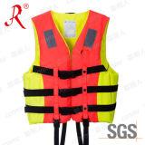 Новый конструированный плавая спасательный жилет с пеной (QF-004)