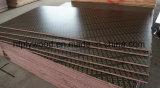 Encofrados de madera contrachapada de contrachapado de 9mm película negra la madera contrachapada