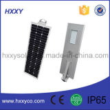 Integriertes Solar-LED Straßenlaterneder besten Preis-Qualitäts-mit Cer RoHS IP65 ISO9001 genehmigt