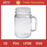 Volume transparente dos frascos de pedreiro do vidro bebendo da alta qualidade 14oz