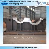 ステンレス鋼で機械で造るCNCと砂型で作ることによるOEMの鋳造