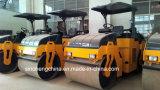 Rolo de estrada (oscilatório) Vibratory Yzc6 do cilindro dobro de 6 toneladas (YZDC6)