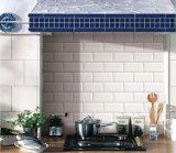 """3""""x6""""/7.5X15cm da parede Cônica Branco brilhante cozinha vidrada decoração de azulejos de cerâmica"""