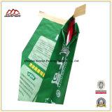 Bolso de la válvula/saco tejidos PP del Papel-Plástico de Kraft para el polvo/Anfo de la masilla