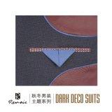 OEM 2 Кусок пик петличный тонкий установите мужской костюм для бизнеса