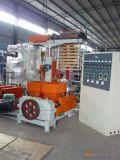 二重カラーしまのあるフィルムの吹く機械(工場)