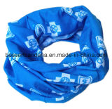 Fabriqué à l'OEM Logo personnalisé imprimé en tissu à col en polyester Bandana
