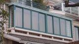 Thermischer Luxuxbruch-schiebendes Aluminiumfenster mit chinesischen Spitzenmarken-Befestigungsteilen