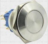 30mm de Schakelaar van de Drukknop van het Metaal van het Begin (zonder licht)