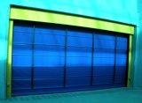 Cortina de PVC de alta velocidad se pliegan rápido de la puerta de la velocidad