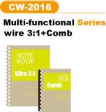 2 에서 1 빗과 철사 (CW2016)를 위한 수동 의무 기계