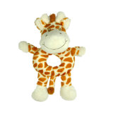 귀여운 채워진 견면 벨벳 동물성 아기 침대 거는 장난감 아기 장난감