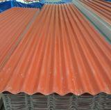 Folha do telhado da isolação térmica UPVC para o edifício de exploração agrícola