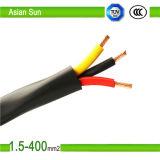 0.6/1.0kv 3 cable eléctrico aislado Swa/PVC de la base 185mm2 70mm2