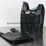 [ب] سوداء [ت] قميص حقيبة [غربج بغ] بلاستيكيّة
