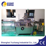 Máquina automática da caixa da caixa do queijo da manufatura Cyc-125 de Shanghai