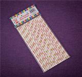 Pajas raya pajitas de papel pajitas de papel de calidad de la FDA pajuelas Eco