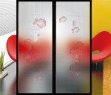 2m m - el espesor de 19m m templó el vidrio grabado al agua fuerte ácido con la decoración elegante