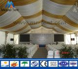 Grande barraca barata do banquete de casamento do dossel do PVC do branco para a venda