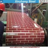 La couleur couvrante de feuille de l'impression 600-1250mm a enduit la bobine en acier pour la construction